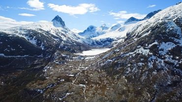 Åseli i Bodø en vinterdag