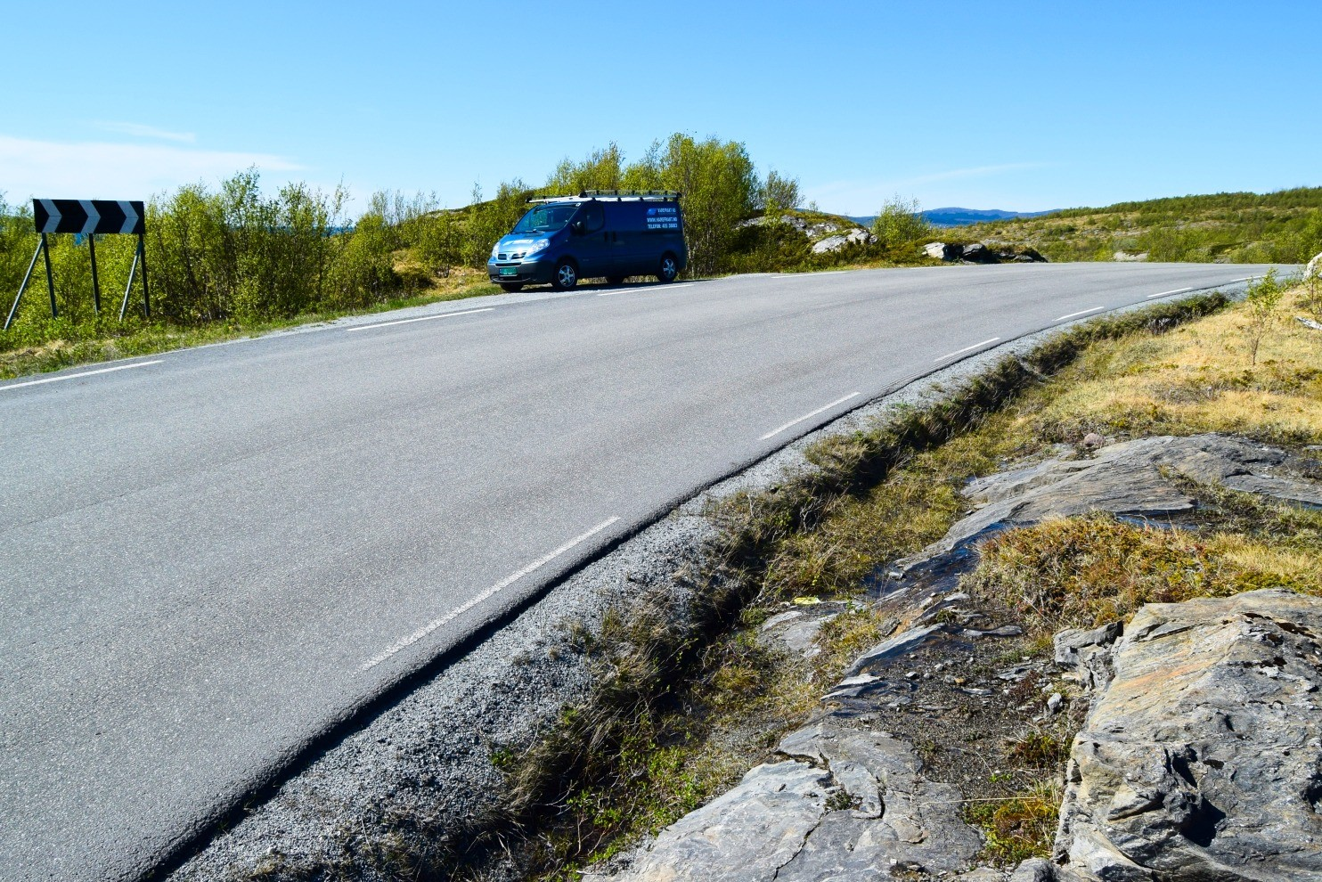 Startpunktet til Store Sandvika