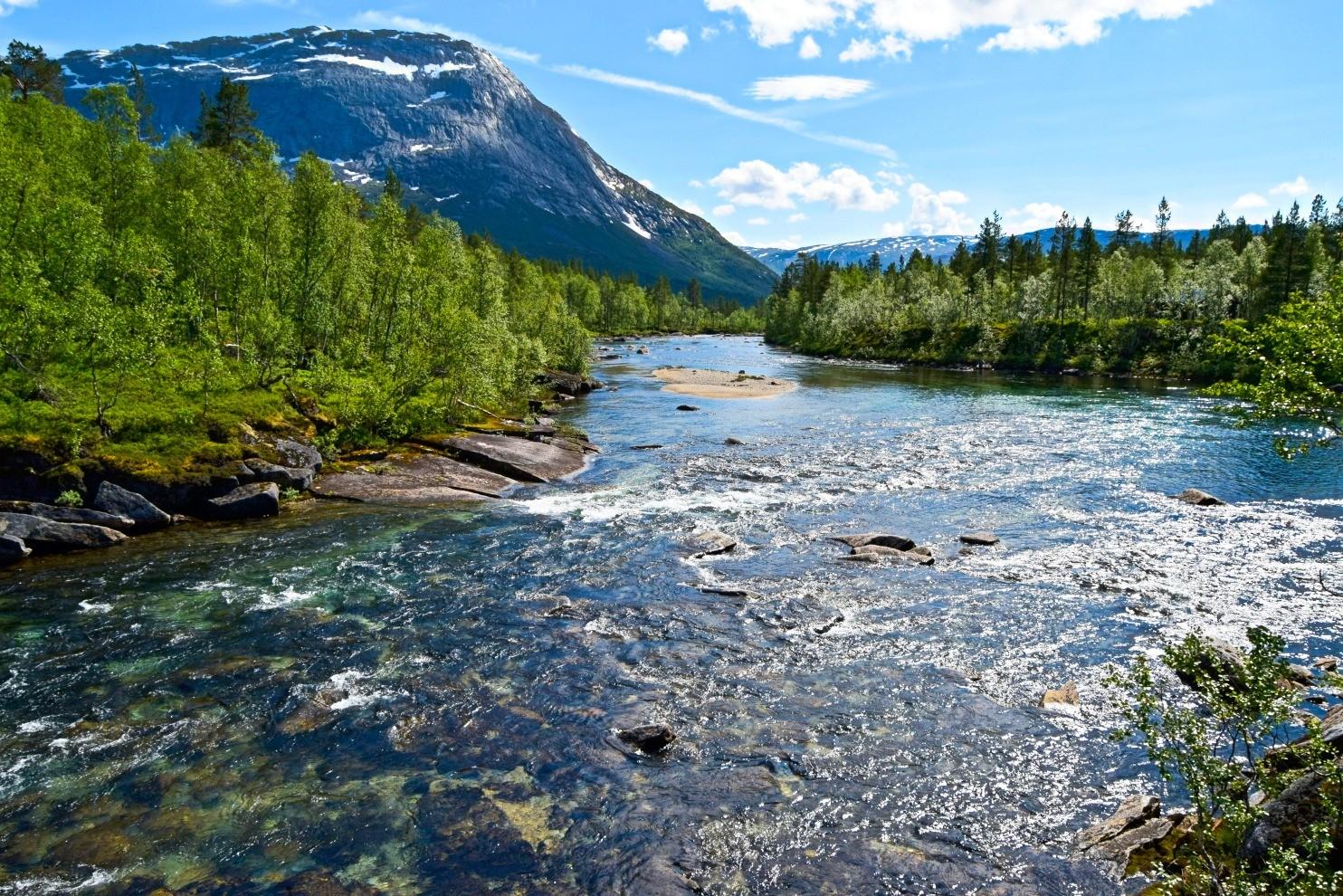 Gjerdalselva I Sørfold