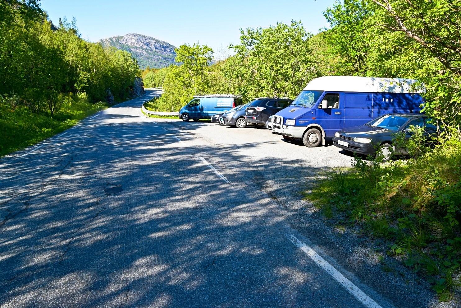 Parkeringsplass Finnkonnakken Bodø