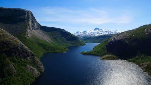 Børvatnet i Bodø