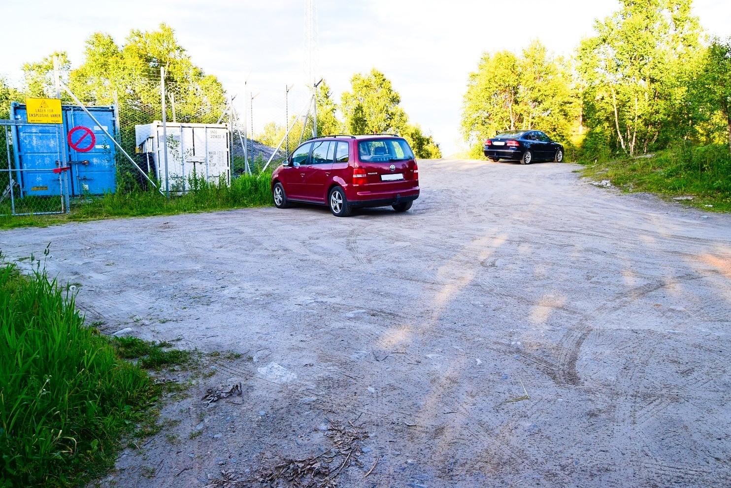 Parkeringsplass Sjurnakken Vågnakken