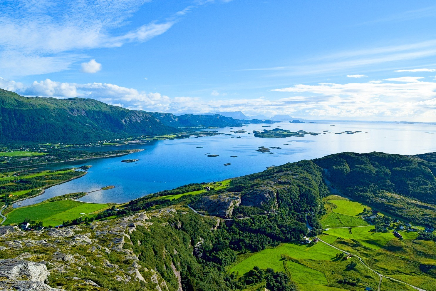 Utsikt mot Nordsiden av Bodø