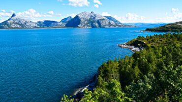 Utsikt fra Kjerringøy i Bodø