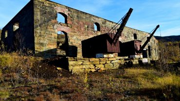 Gamle gruvedriften i Sulitjelma