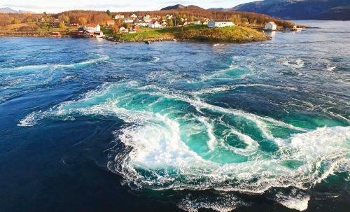 Saltstraumen i Bodø