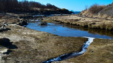 Mørkvedbukta i Bodø en vårdag