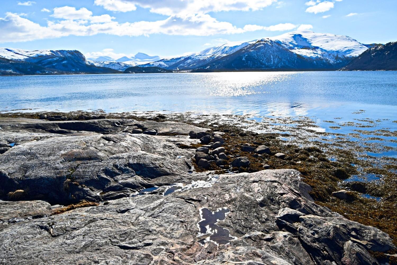 Utsikt utover Skjerstadfjorden