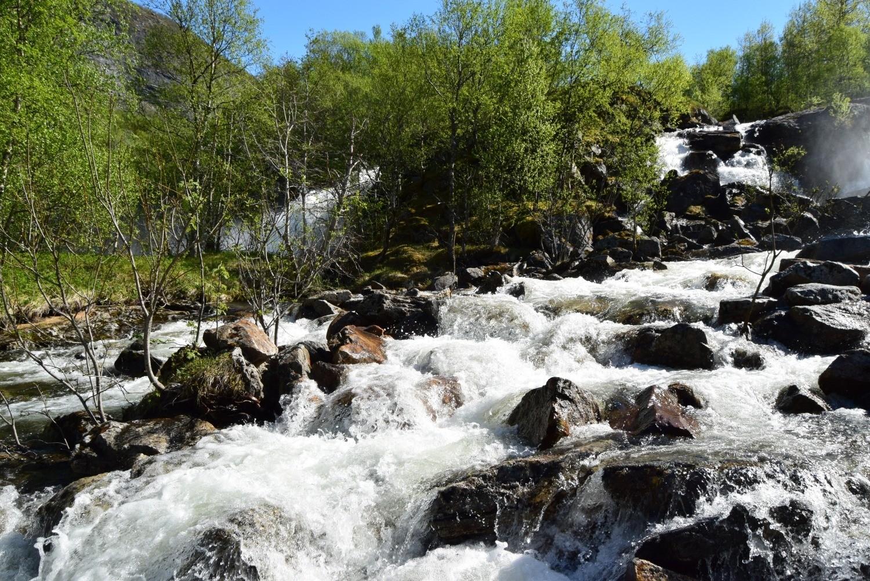 Innerst ved Børvatnet i Bodø