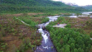Øvre Valnesfjord i Fauske kommune