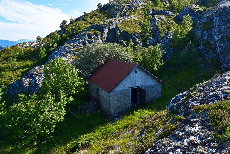 Gammelt hus på Lille Hjertøya