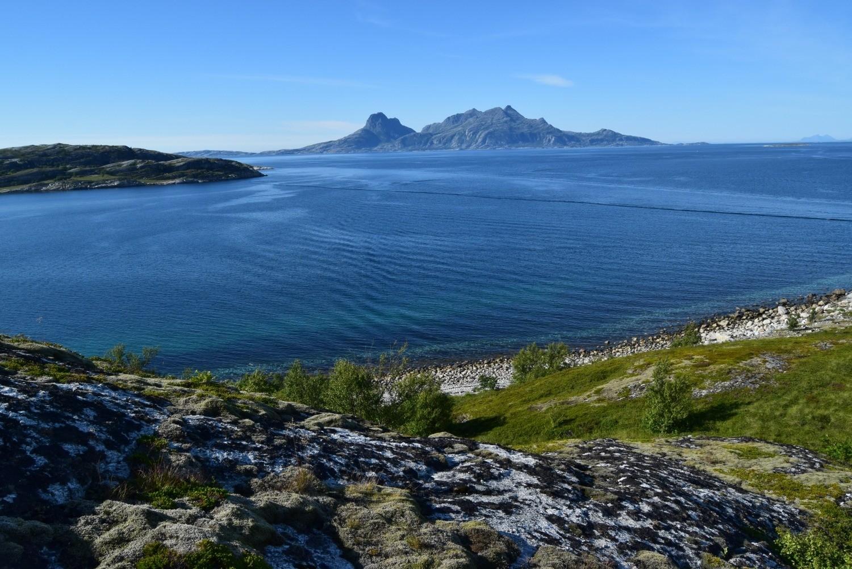 Landegode sett fra Lille Hjertøya