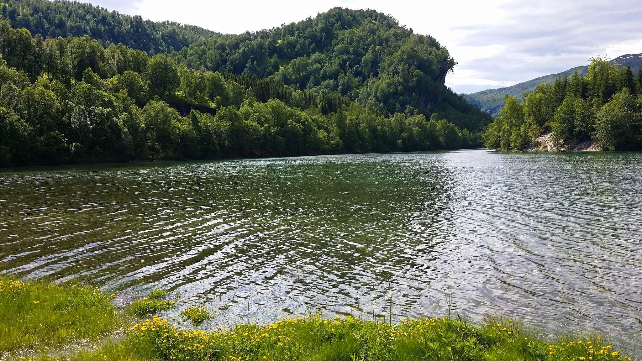 Startpunktet for padleturen i Nordfjorden