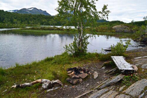 Hømmervatnet i Valnesfjord