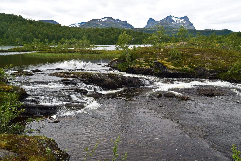 Hømmervatnet i Øvre Valnesfjord