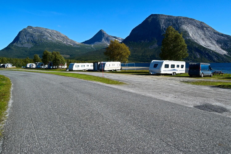 Kobbvatnet Camping i Sørfold
