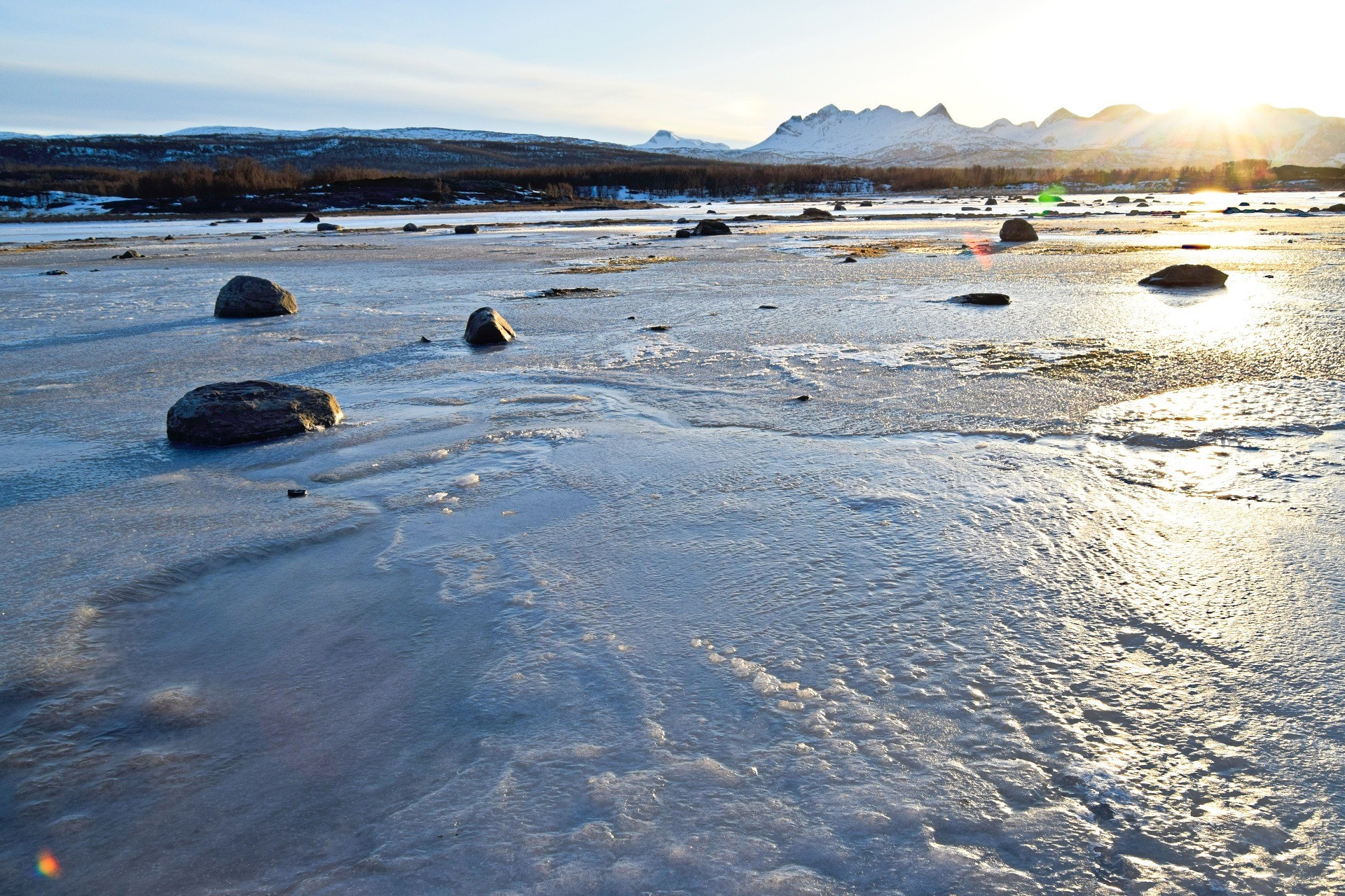 Tverlandet Naturreservat I Bodø