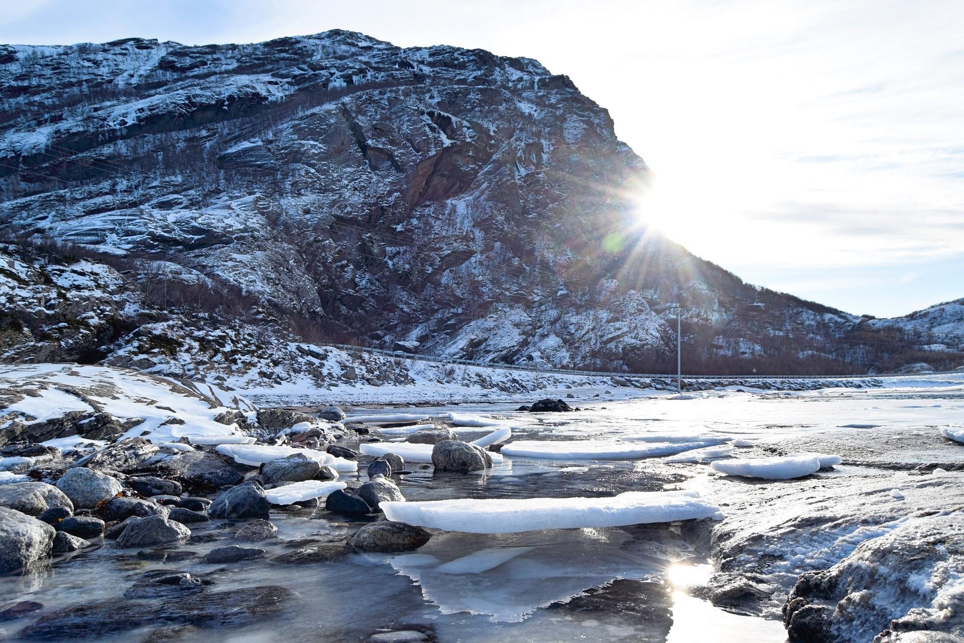 Vinterlandskap På Kjerringøy