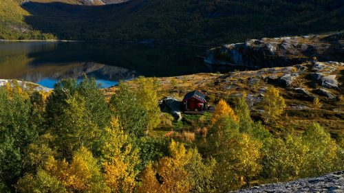 Sørfjorden in Sjunkhatten National Park