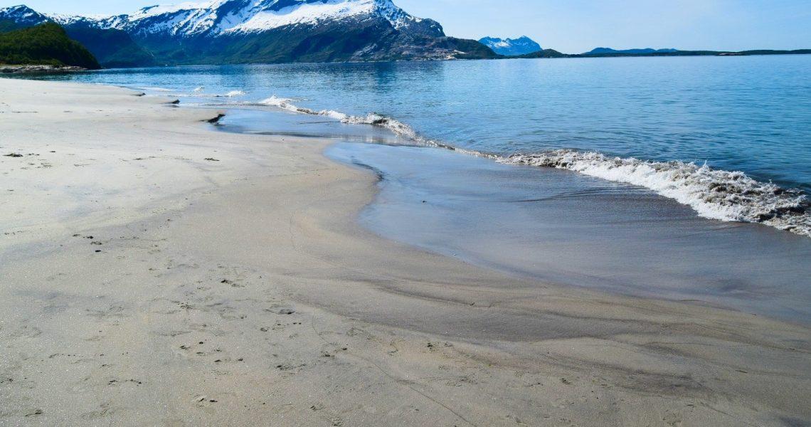 Langsand på Sandhornøya