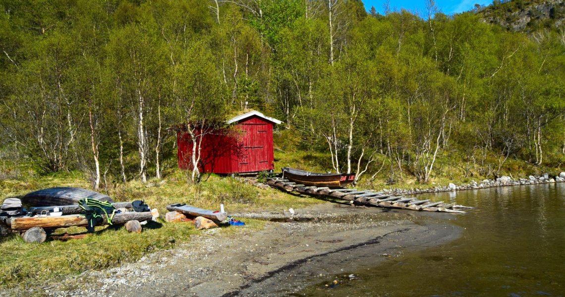 Skivikvatnet på Straumøya