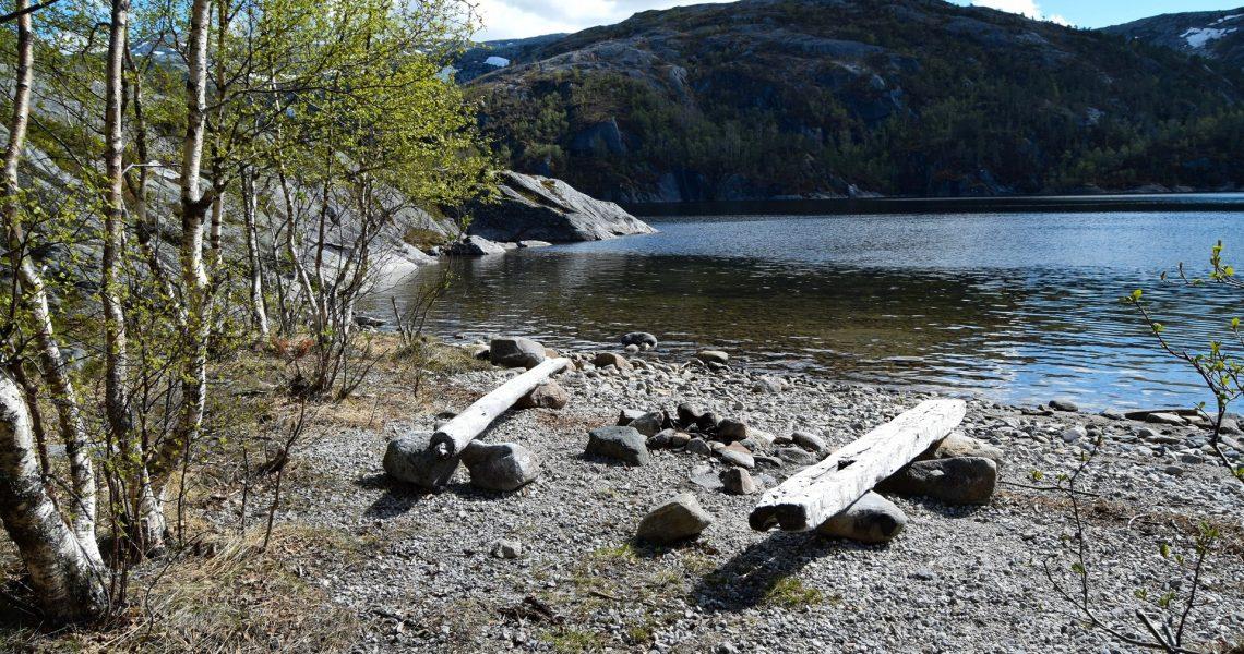 Øvre Vatnvatnet i Bodø