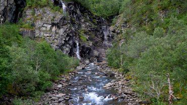 Elva ovenfor Fykanvatnet