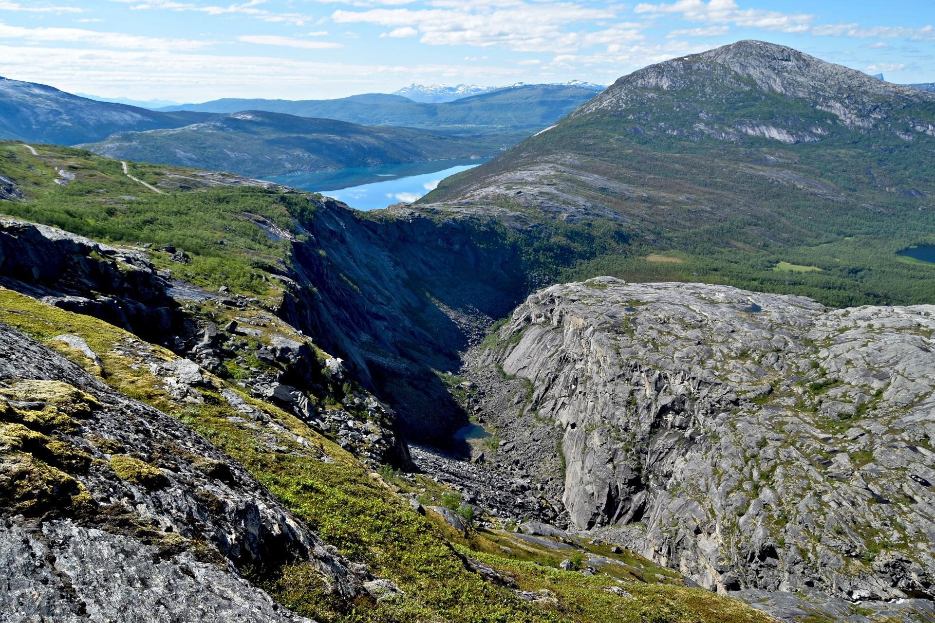 Fjelltur I Sørfold