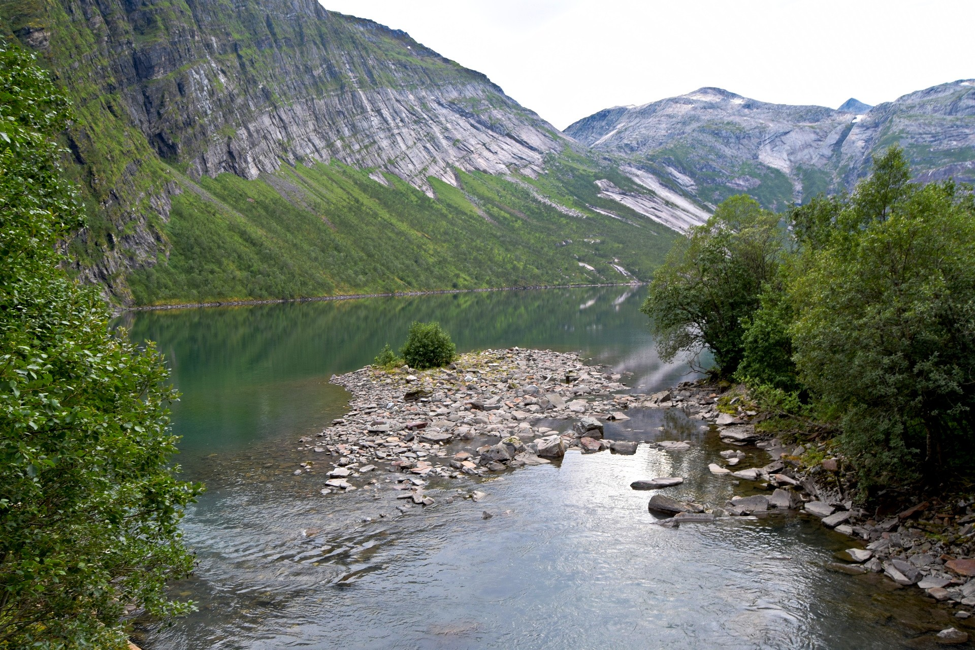 Fykanvatnet i Meløy kommune