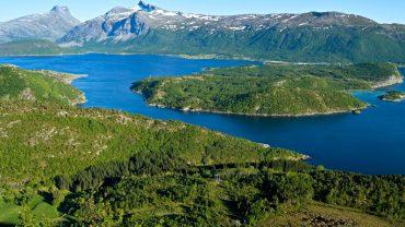 Høgnakken på Straumøya i Bodø