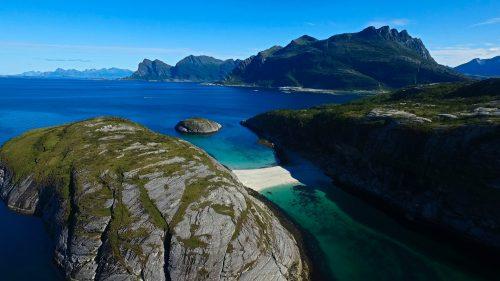 Hovdsundet strand i Bodø