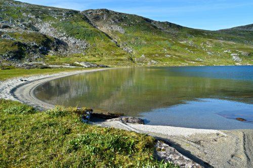 Indre Lurfjellvatnet på Beiarfjellet