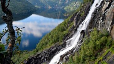 Ingeborgfossen i Saltdal