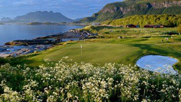 Midnattsol golf i Bodø