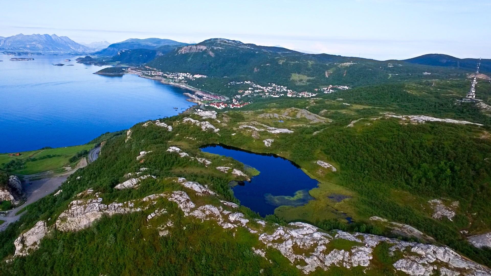 Rønvikfjellet Bodø Pallvatnet