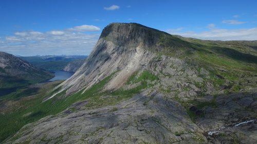 Fjelltur i Sørfold kommune