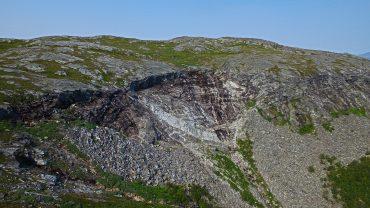 Sandfjellet i Bodø