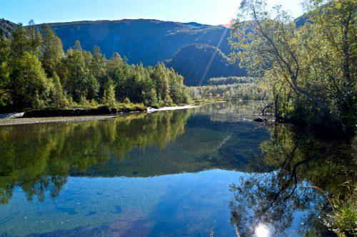 Nordfjordelva i Sørfold kommune