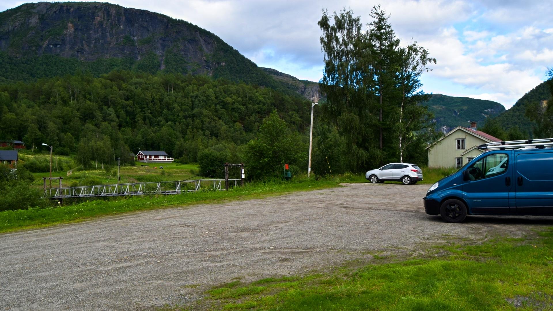 Startpunktet til Ingeborgfossen