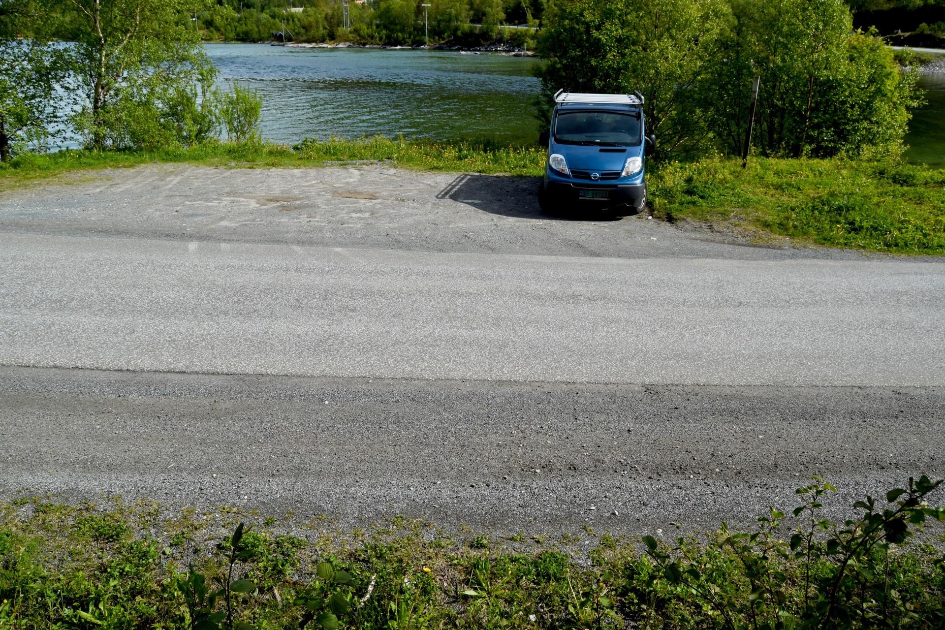 Startpunktet for turen til Valnesfossen