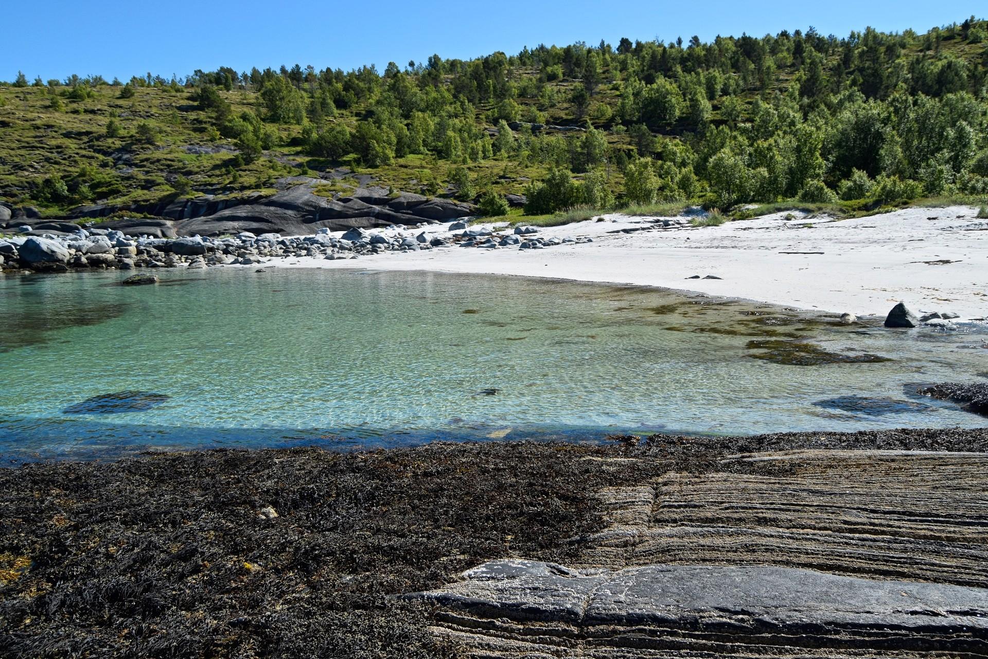 Storteinsvika på Straumøya