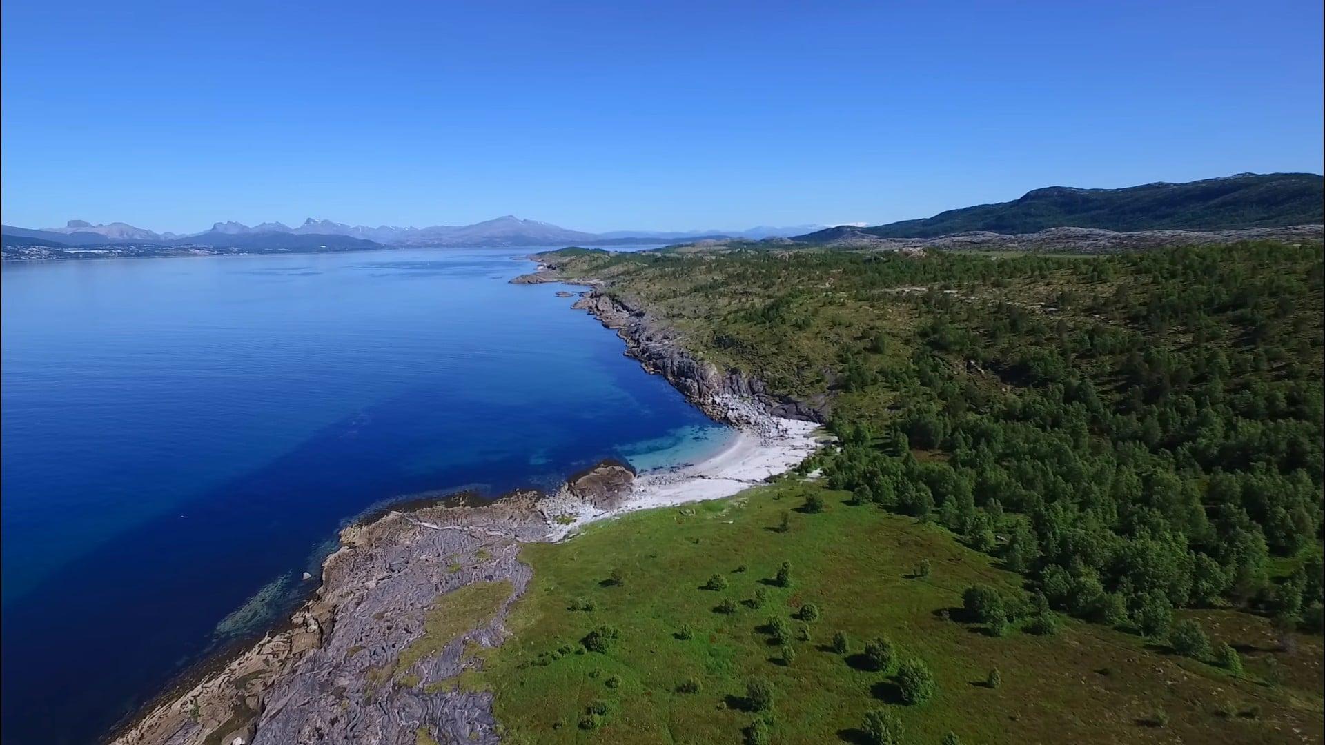 Straumøya Bodø Drone