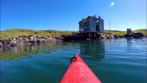 Padletur rundt Vågøya i Bodø