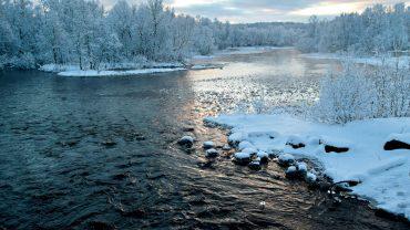 Vinterlandskap i Nord Norge