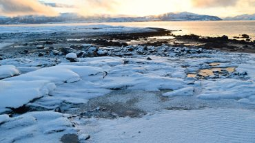 Solnedgang ved Bodøsjøen i Bodø
